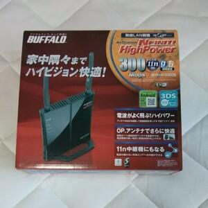WiFiルーター BUFFALO WHR-HP-G300N