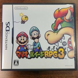 マリオ&ルイージRPG3 DSソフト ニンテンドーDS