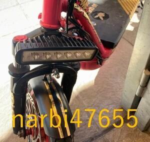 na9194:オートバイLEDヘッドライトペアモトクロスATVダートデイタイムランニングスポットフォグランプユニバ-サルKTMヤマハカワサキBMW対応