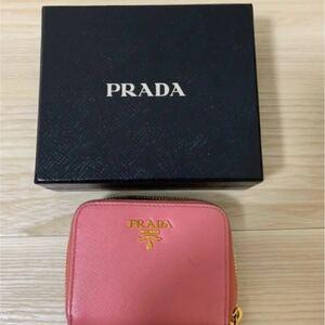 正規品 PRADA プラダ 財布 コインケース 小銭入れ ミニ財布