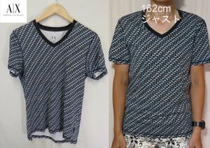 【メンズ】ARMANI EXCHANGE総柄Tシャツ/アルマーニブランド高級高品質XS
