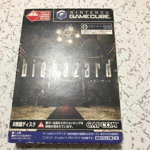 ゲームキューブ バイオハザードDISC-1
