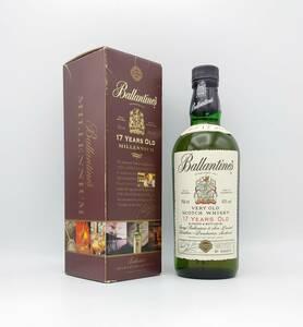 【全国送料無料】Ballantine's 17years old VERY OLD SCOTCH WHISKY MILLENNIUM 2000 43度 750ml【バランタイン17年 ミレニアム 2000】