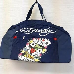 エドハーディー ボストンバッグ 非売品 ノベルティ タグ付き スポーツバッグ
