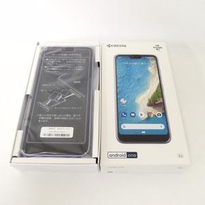 【送料無料】 SIMフリー Android One S6 ラベンダーブルー Y!mobile SIMロック解除 安心の判定〇 未使用品 /2103A