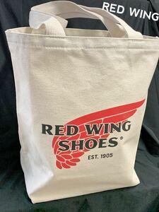 税&送料込みRedWingレッドウィング厚手キャンバス トートバッグ95069綿100%アメリカ製Canvas Tote Bagお出かけ用に!マイバッグ エコバッグ