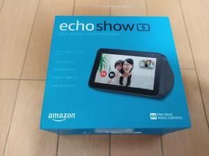 Amazon Echo Show 5 チャコール / 新品 未開封 エコーショー5 スマートディスプレイ