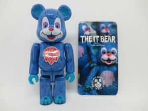 ●ベアブリック★ミルクボーイ THE IT BEAR★シリーズ34 シークレット●開封済 カード付き MILKBOY TOYS