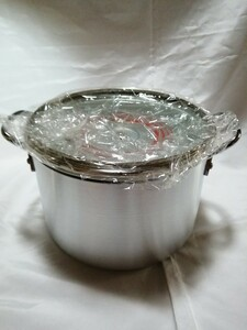 アピデ アルミ鍋 フッ素樹脂加工 ガラス蓋 26センチ