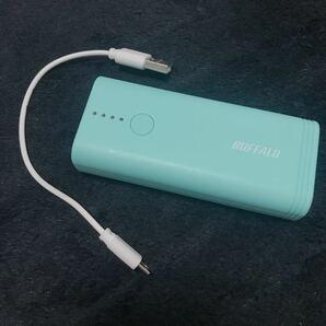 モバイルバッテリー 大容量モバイルバッテリー5200ahティファニーブルーバッファローBUFFALO