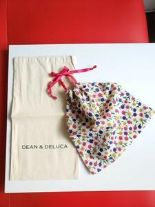 DEAN&DELUCA(ディーンアンドデルーカ) 布袋、JILLSTUART(ジルスチュアート)巾着 ピンク リボン 花柄 お弁当