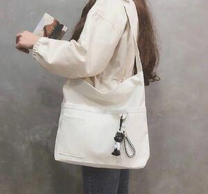 レディースバッグ トートバッグ ショルダーバッグ ホワイト メンズバッグ