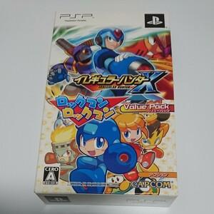 【PSP】 イレギュラーハンターX ロックマンロックマン バリューパック