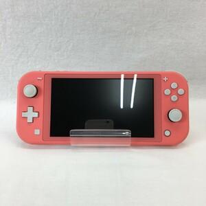 『中古品』Nintendo ニンテンドー Switch Lite スイッチライト HDH-001 コーラル