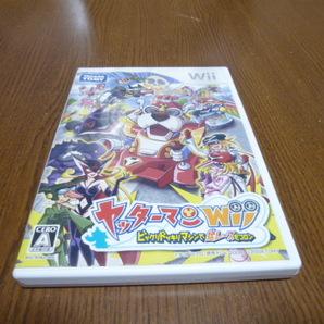 T18【即日配送 送料無料 動作確認済】ヤッターマン Wii(クリーニング済)