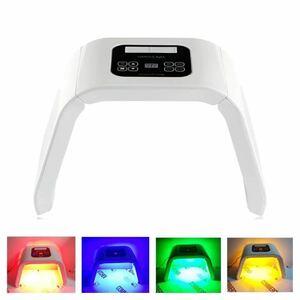 【激安】美顔器 7色/4色タイプ オメガライト LED光 美容器 光美容 シミ くすみ ニキビ対策 美肌 ハリ 弾力 コラーゲン