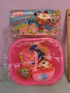 おかあさんといっしょ にこにこぷん お風呂セット玩具 ソフビ人形 昭和レトロ NHK 当時物 未使用 ビンテージ じゃじゃ丸 ピッコロ ポロリ