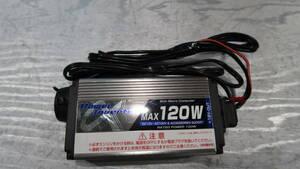 ★パワー インバーター DC12→AC100★【2105-2060】