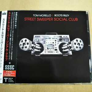 中古CD STREET SWEEPER SOCIAL CLUB / ストリート・スウィーパー・ソシアル・クラブ 国内盤/帯有/Rage Against the Machine TRCP52【1197】