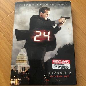 24 シーズン7 DVD6枚セット