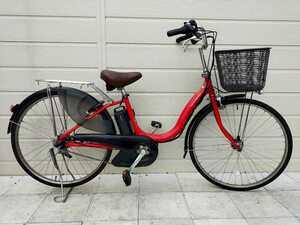 ヤマハ PAS Natura 電動アシスト自転車 26インチ X563 内装3段変速 8.7Ahバッテリー・充電器 整備済み自転車! 071505