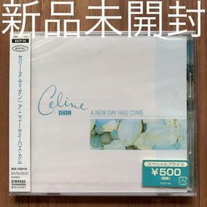 Celine Dion セリーヌ・ディオン A new day has come ア・ニュー・デイ・ハズ・カム 国内盤シングル 新品未開封