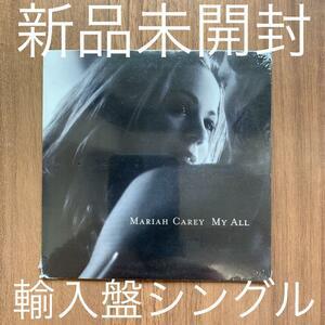 Mariah Carey マライア・キャリー My all 輸入盤 新品未開封