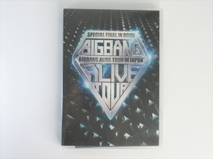 BIGBANG ALIVE TOUR 2012 IN JAPAN SPECIAL FINAL IN DOME AVBY-58147/8 韓国 グッズ G-DRAGON V.I T.O.P SOL D-LITE
