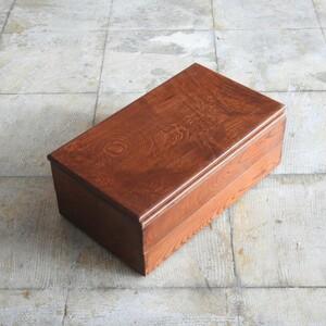 欅に透き漆のそね箱 2段 / 重箱 民芸 古民具 小箱 番重