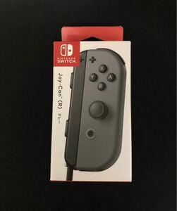 新品未開封 Nintendo Switch ニンテンドースイッチ Joy-Con ジョイコン (R) グレー