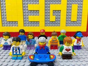☆子供☆ レゴ ミニフィグ 大量10体 男の子 女の子 少年 少女 住人 LEGO 人形 短足 シティ