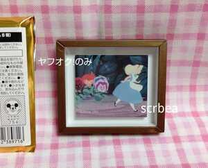 ふしぎの国のアリス オーマイカフェ マグネット 磁石 アリス パンジー 花 ディズニー