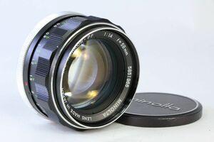 光学綺麗★ミノルタ MINOLTA MC ROKKOR-PF 58mm F1.4★ピントリングわずかに違和感★13635