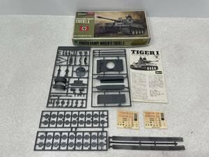 【B-4】  ドイツ陸軍VI号戦車 タイガーI 1/72スケール プラモデル 戦車