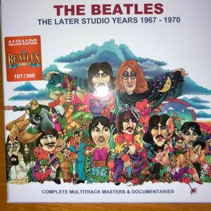 The later studio years The Beatles cd dvd