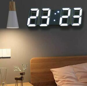 色多数 LED デジタル時計 壁掛け時計 置き時計 壁掛け 置時計 CLOCK 時計 アラーム インテリア 全10色 252