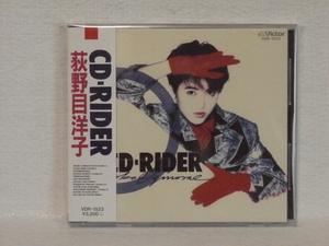<美品> 荻野目洋子  /  CD-RIDER  帯付  国内正規セル版
