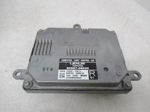 ** Lexus GS GWL10 latter term original right head light control 85967-48020 (n059780)