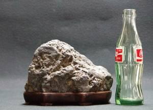 鑑賞石 2.2㎏ 富士川産 即決送料込み 山型石 姿石 景石 原石 水石 鉱物 自然石 置物原石 盆石 飾り石