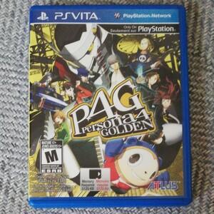 ペルソナ4 ザ・ゴールデン 北米版 PS Vita VITA ソフト ペルソナ4
