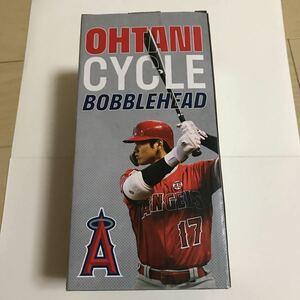 #10 最新 2021年エンゼルス 大谷翔平 サイクルヒット記念 ボブルヘッド人形 球場配布限定品 未開封品