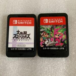 大乱闘スマッシュブラザーズ special Switch スプラトゥーン2 スマブラ 任天堂Switch ニンテンドースイッチ