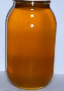 信州産 令和3年度産 天然純正蜂蜜 西洋ミツバチ(トチ蜜 大瓶)1.2kg(0)