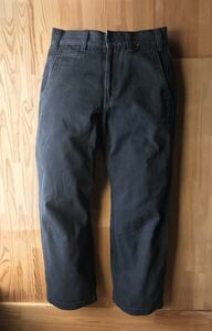 Calee  нести   WORK  брюки   черный  size S  Япония  произведено   Chino   Кази   по  автомобиль  crimie backdrop cootie westride  Широкие брюки