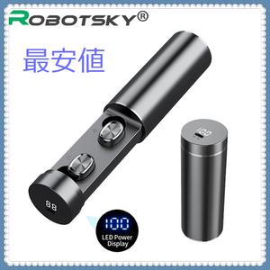 お値打ち価格の1円~ B9 TWS Bluetooth イヤホン 5.0 ワイヤレス 8D ハイファイスポーツ イヤホンマイク ゲーム デジタルディスプレイ xfvl