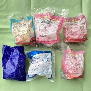 ◆マクドナルド ハッピーセット◆ポケットモンスター 5種6個セット◆未開封品◆