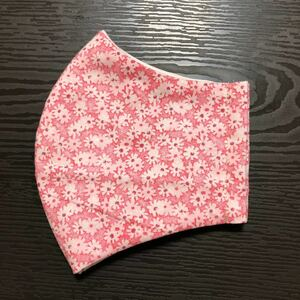 立体インナー ピンク花柄