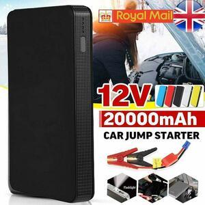 ★新品★2色12V 20000 1000MAH ジャンプスターター ポータブル おすすめ 電源 自動車 エンジン バッテリー 緊急 薄型 充電器