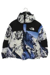 シュプリーム SUPREME ノースフェイス 17AW The North Face Mountain Baltoro Jacket サイズ:S バルトロダウンジャケット ブルー調 【10】