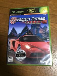 送料無料 新品未開封 Xbox★プロジェクトゴッサムレーシング2★Brand new☆Project Gotham Racing 2☆